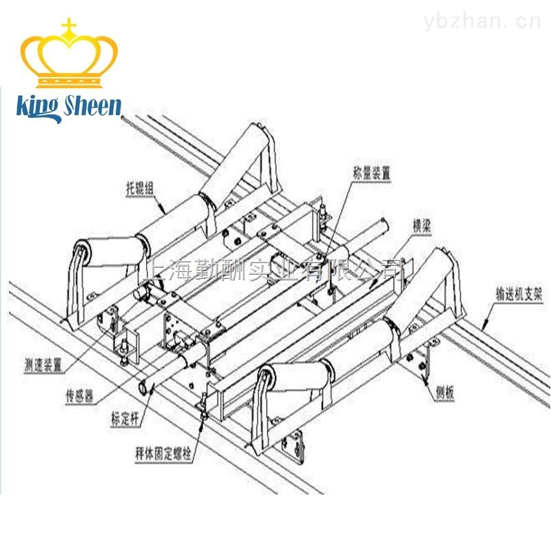 上海勤酬皮带秤厂家长期对外直销皮带电子秤可来电定制