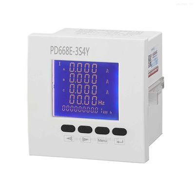 PD668E三相多功能智能485通讯
