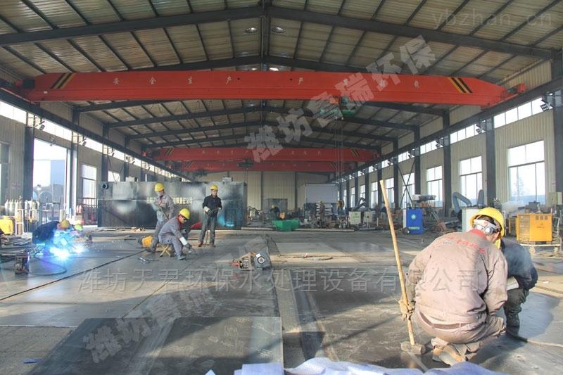 通辽地区一体化污水处理设备工艺流程
