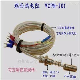 端面式热电阻