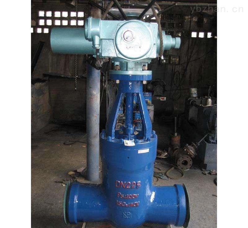 2009-电动硬密封焊接闸阀