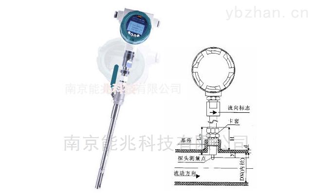高温型烟气流量计-废气流速仪
