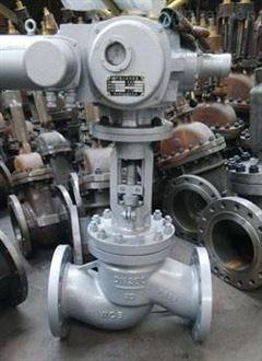 上海湖泉电动法兰截止阀好品质