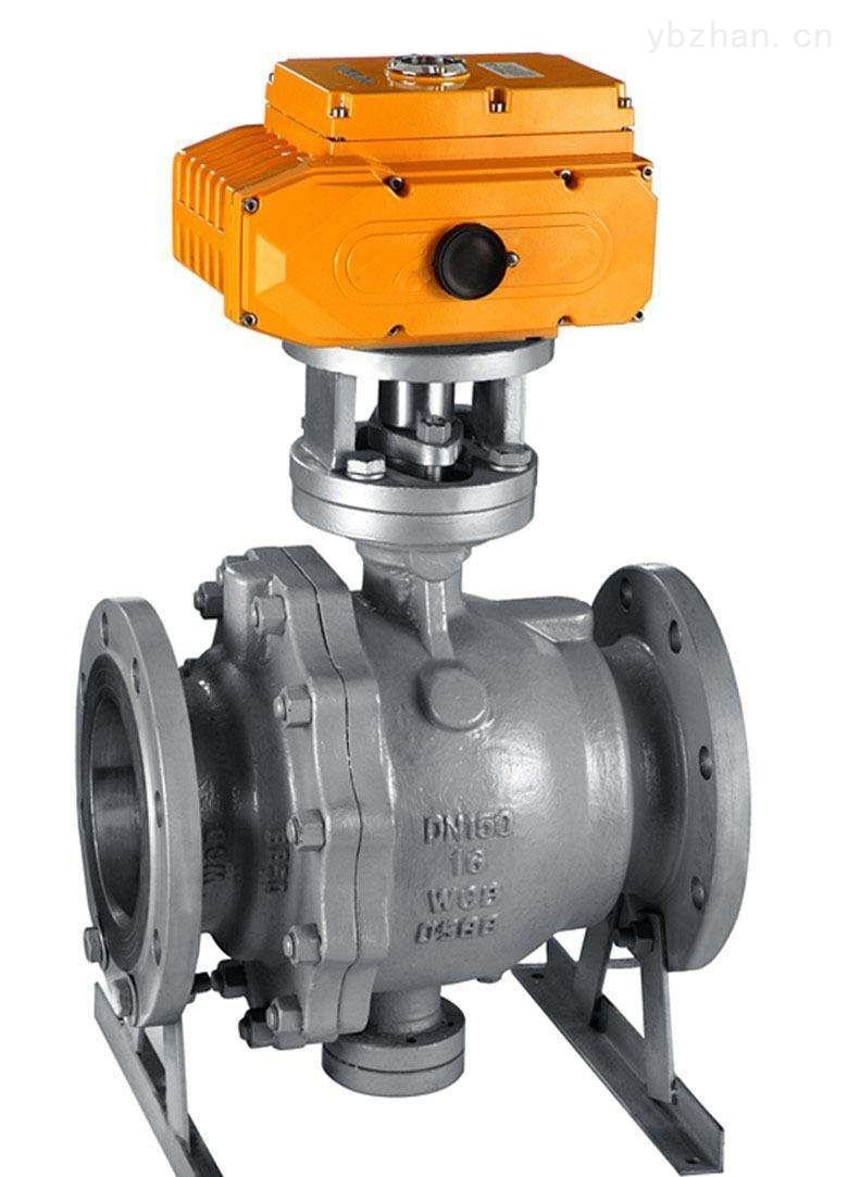 Q947H-25C-150-电动DN150固定式法兰球阀