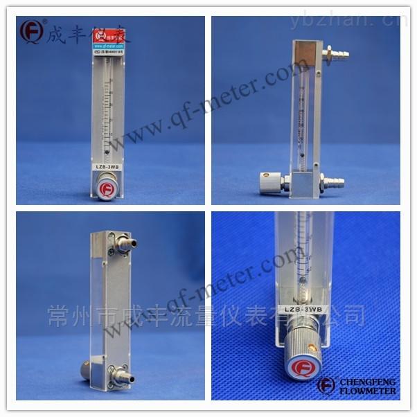 测量微小流量带调节阀的玻璃转子流量计