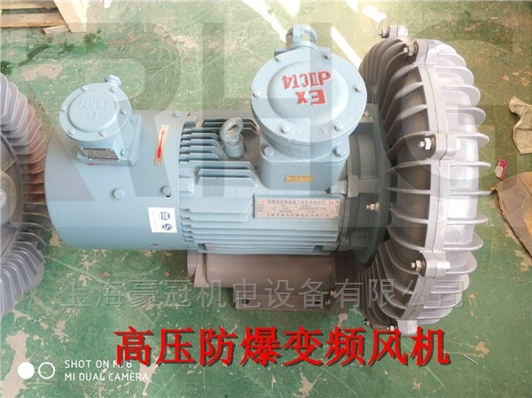 20HP大功率防爆高壓鼓風機型號