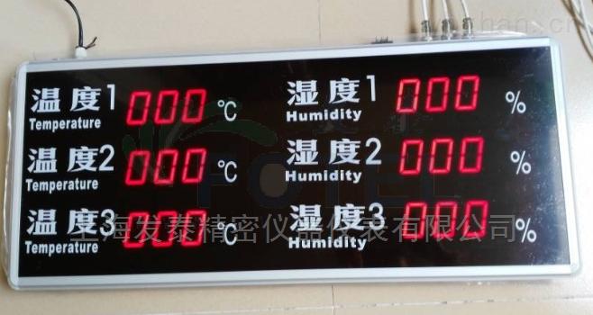 常规多路温湿度显示屏
