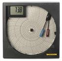 寸圓盤走紙溫濕度記錄儀