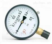 YB-100不锈钢压力表安徽天康销售