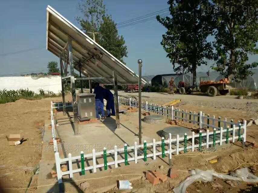 清澈透底太阳能微动力污水处理设备