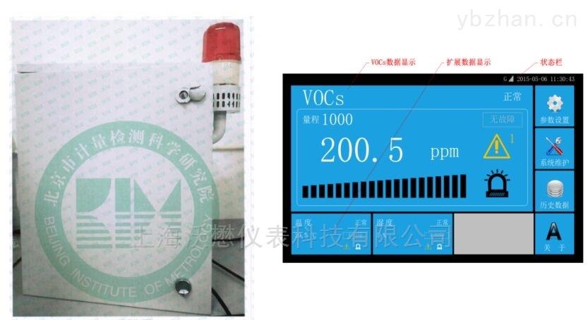 挥发性有机物在线TVOC监测仪
