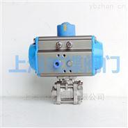 上海气动不锈钢三片式内螺纹球阀