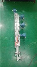 供应西安宝鸡304带法兰水箱化工罐磁翻柱液位计