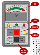 DESCO 19784指针式表面电阻,表面阻抗测试仪