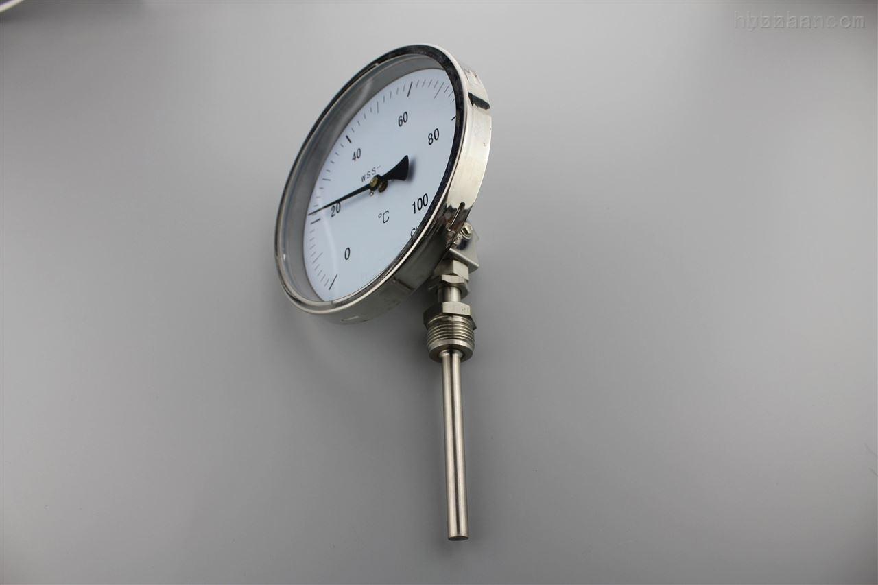 可动外螺纹轴向型双金属温度计