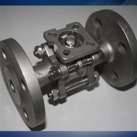 电动法兰式O型球阀