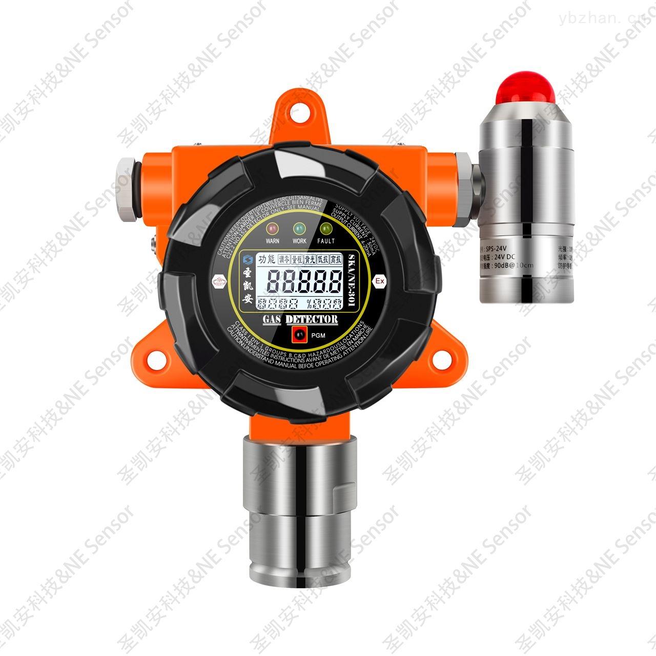 固定壁挂式一氧化氮NO在线探测报警传感设施