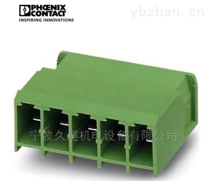 MSTBO 2,5/3-G1L BK-端子连接器插座 MSTBO 2,5/3-G1L BK