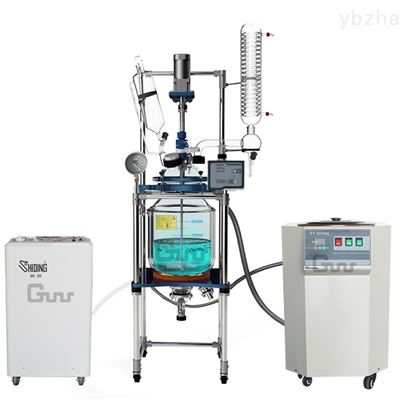 SY-100高温循环浴100L双层玻璃反应釜厂商