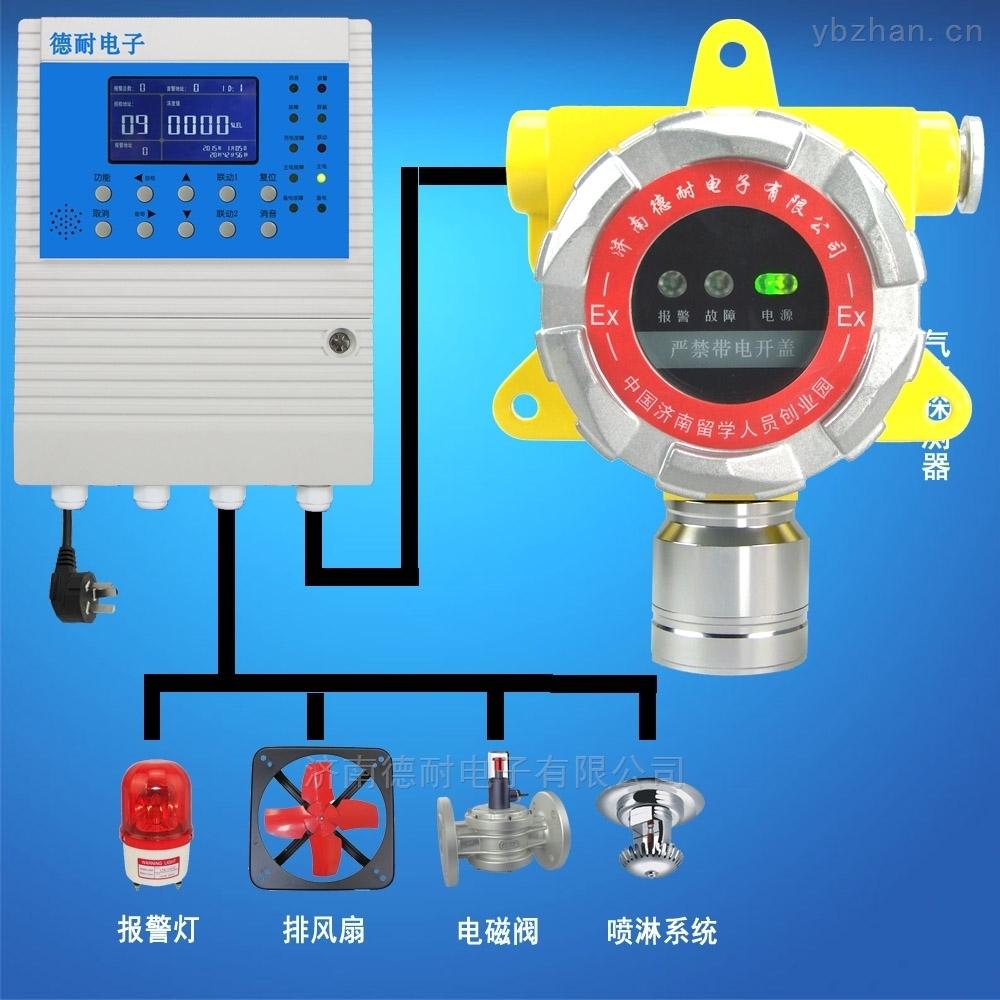 工業罐區乙醇氣體檢測報警器,有害氣體報警器