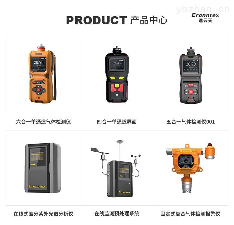 惠州氧氣濃度檢測儀|二氧化氯濃度檢測儀|便攜式可燃氣體檢測報警儀價格-逸云天