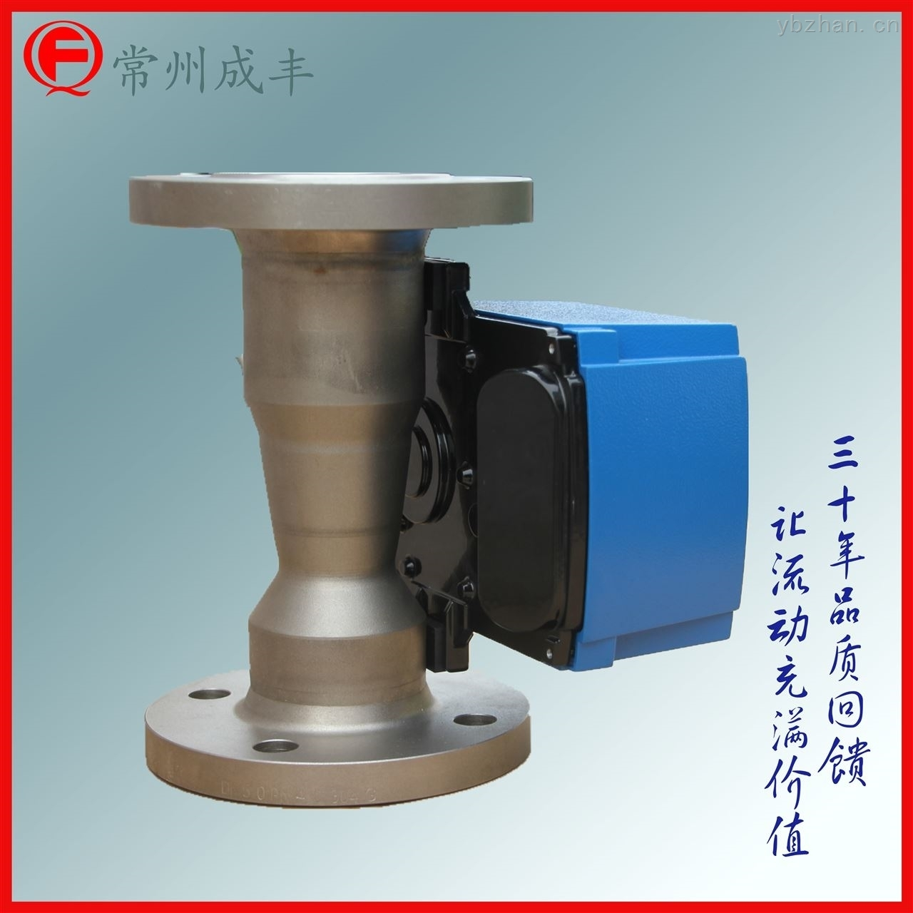 金属管浮子流量计,指针显示可带液晶