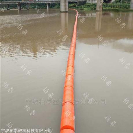 水电站拦渣浮筒