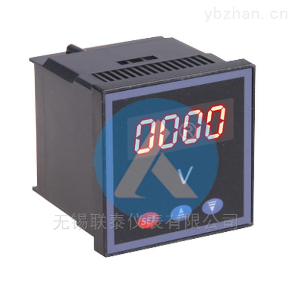 SX120J-ACV可編程數顯單相交流電壓表