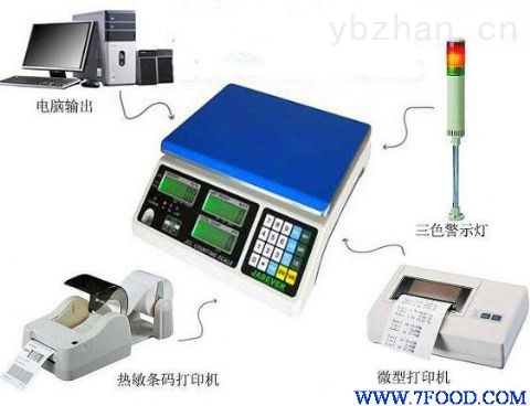浙江100kg电子秤厂家定制垃圾分类称重系统价格