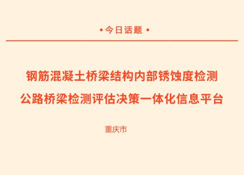 """重庆市研发的两项桥梁""""体检""""科技成果达国际水平"""