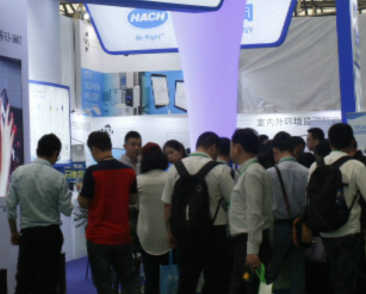 2018上海环博会开幕 国内外知名企业参展(花絮二)