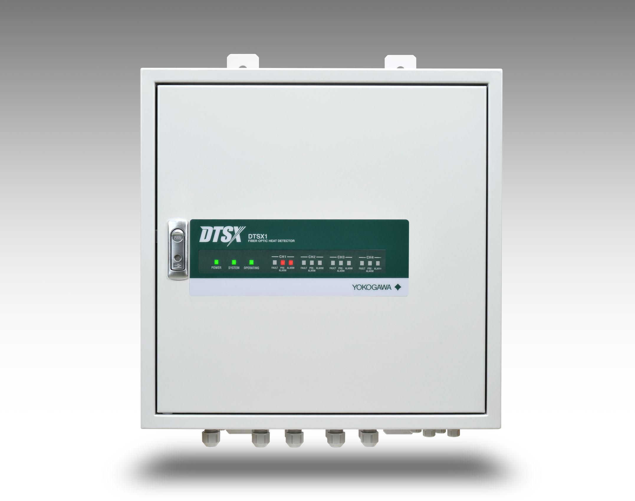 横河电机发布光纤热量探测器DTSX1
