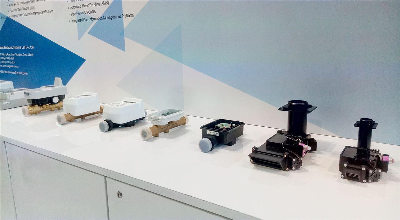 青島積成與ams聯合發布超聲波水表和燃氣表計量模組