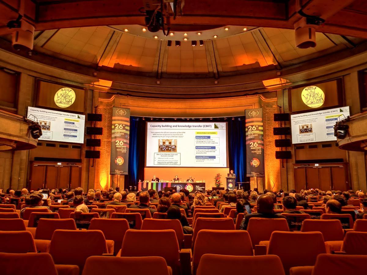 第26届国际计量大会在法国凡尔赛开幕