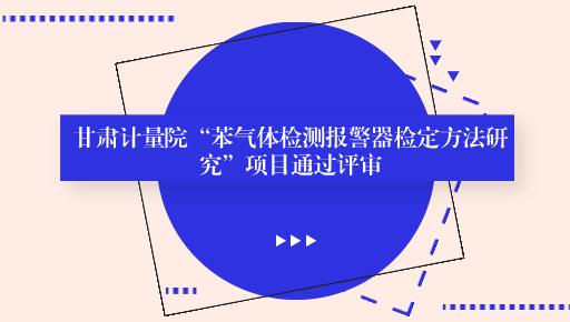 """甘肃计量院""""苯气体检测报警器检定方法研究""""项目通过评审"""