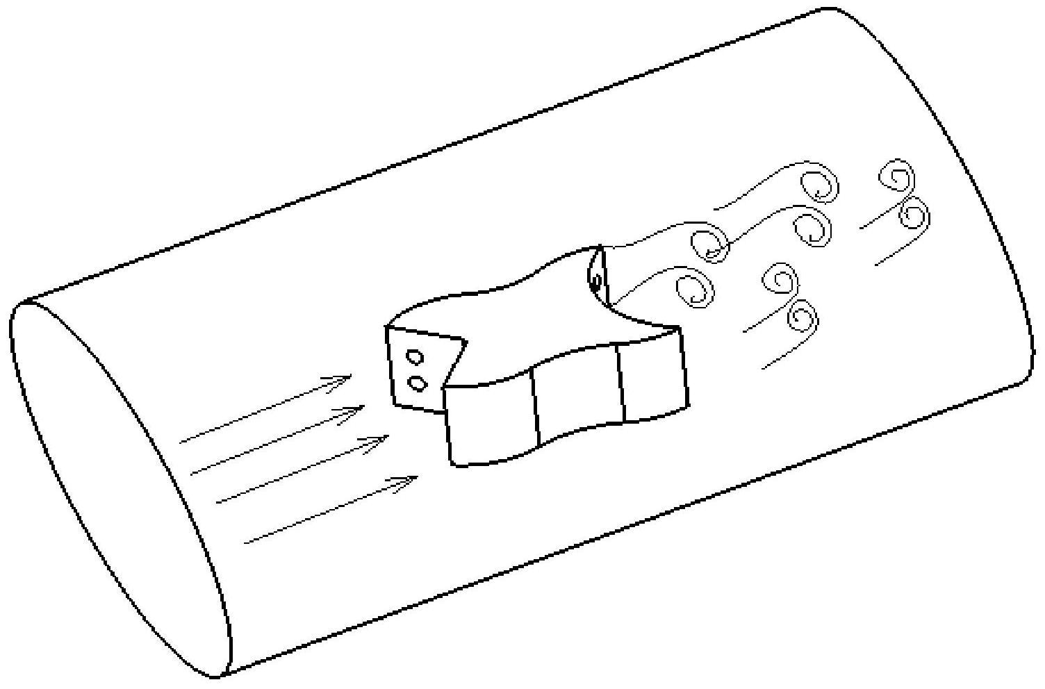 【仪表新专利】涡街加强的仿生型电磁式涡街流量计