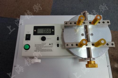 瓶盖开合扭矩的测试仪图片