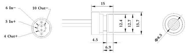 ht13硅压阻式压力传感器