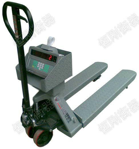 液压电子叉车磅秤