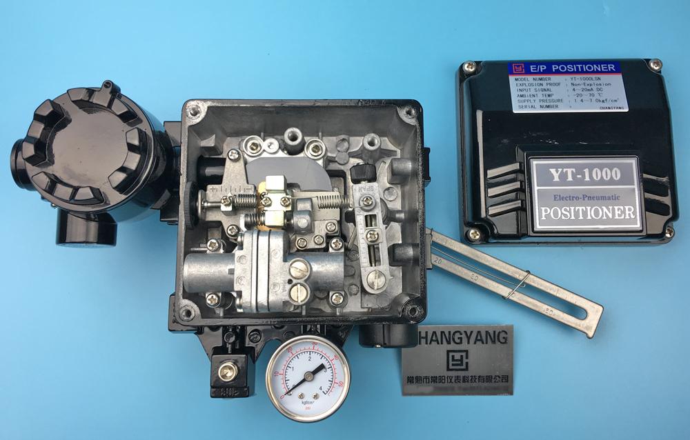 YT-1000L閥門定位器內部分解,YT-1000L閥門定位器,YT-1000L閥門定位器自動或手動開關