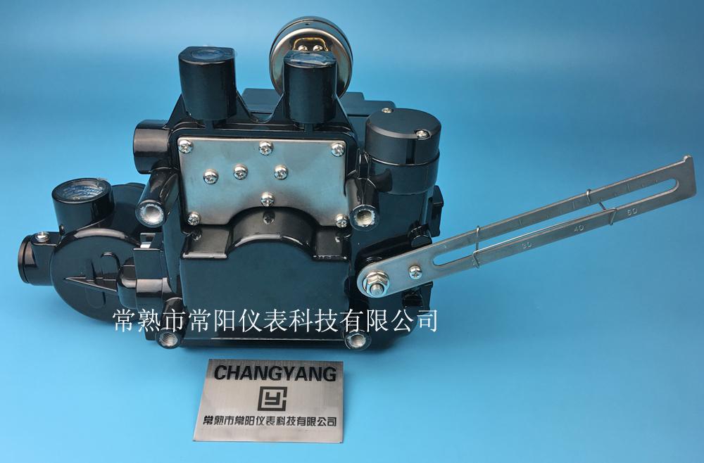 YT-1000L閥門定位器反饋杆,YT-1000L閥門定位器鎖定背部結構