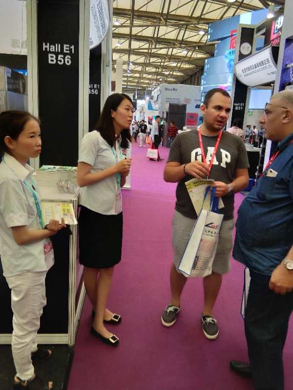 2018上海国际LED展广东艾思荔火热进行中