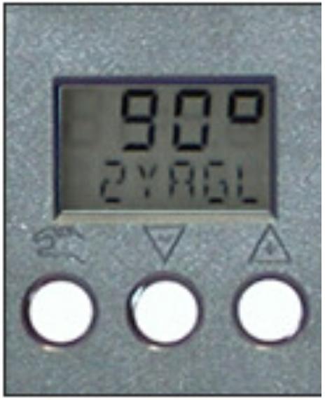 气动执行器定位器显示屏