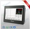 AI-39048宇电AI-39048四路9寸触摸式温控调节记录仪 多路温度调节仪